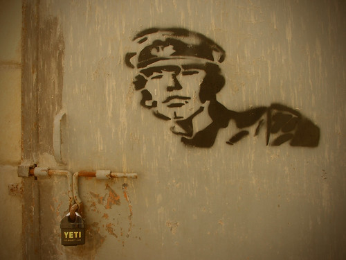 soldier grafitti