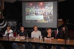 Yorkshire SXSW and MIDEM briefing event 2010 // Brudenell Social Club, Leeds (Chocolate Fireguard) Tags: yorkshire forum leeds seminar sxsw ita ppl brudenell brudenellsocialclub network aim briefing showcase prs southbysouthwest pluggedin bpi midem mcps internationaltrade leedsmusic musicconference musicindustry javierl