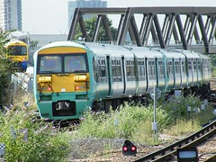 456008 New Cross Gate 110810 (Dan86401) Tags: class southern emu 456 clj brel newcrossgate electricmultipleunit so 456008