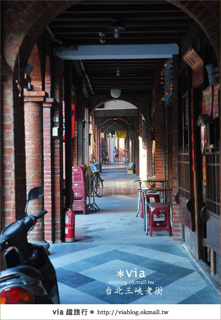 【台北景點】走入台北古味老鎮~三峽老街之旅12