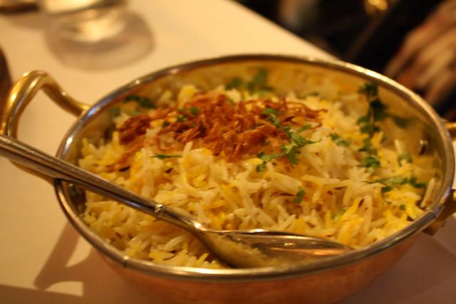 Dinner at Moti Mahal