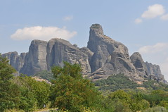 Panoramic view at Meteora valley (maska_29) Tags: club greek nikon view panoramic unesco valley meteora kalambaka d90 thessaly