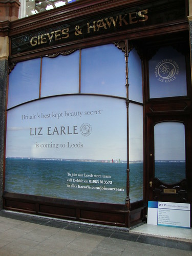 Liz Earle Store Leeds - Stunning Shop Windows