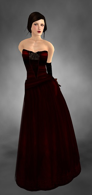 Phoebe - Gown - Ruby by Kouse's Sanctum