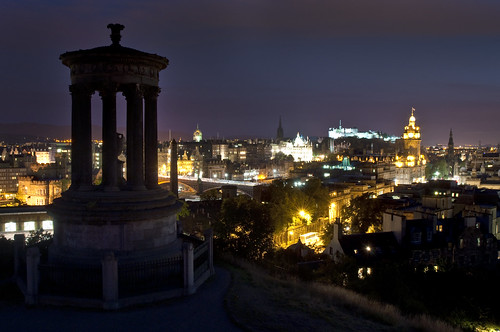 Classic Edinburgh at Night