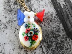 Poppy a Locket Necklace