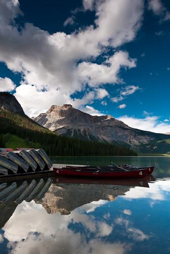 Emerald lake , Yoho NP, Canada