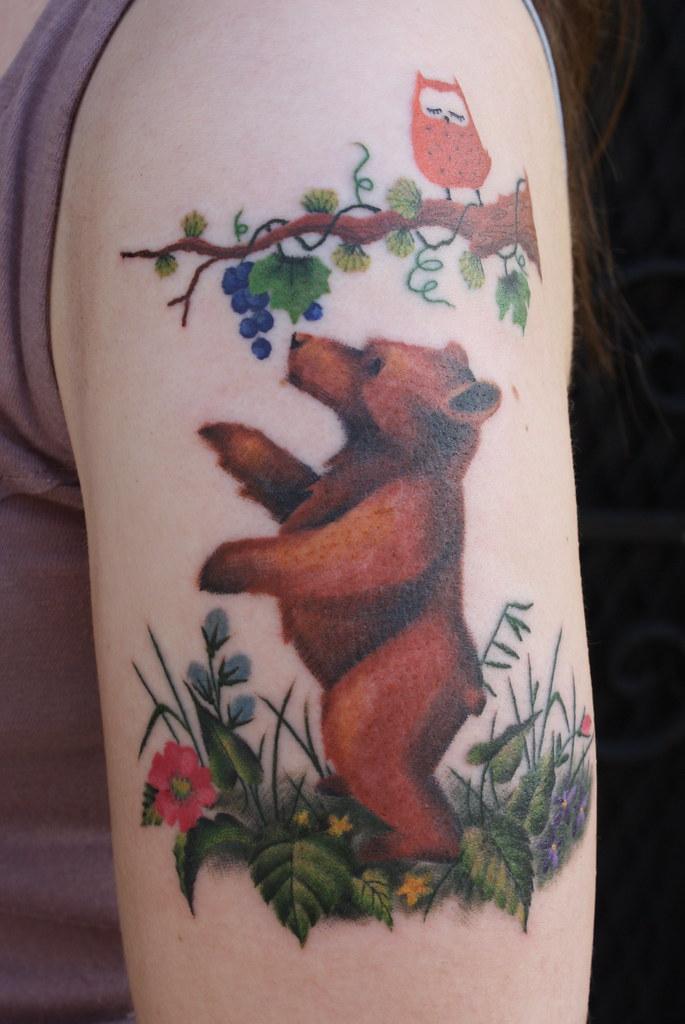 The world 39 s best photos of kaptenhanna and tattoo flickr for Bear cub tattoo
