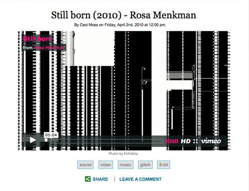 Still Born on Rhizome