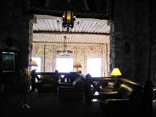 Lobby at the Grand Canyon North Rim Lodge