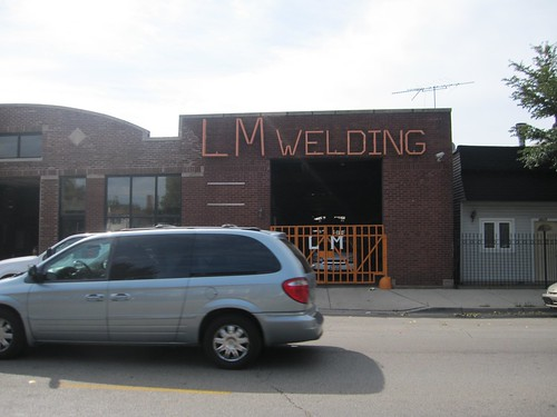 LM Welding, 4619 W Armitage Ave: Regional Bike Ride Chicago