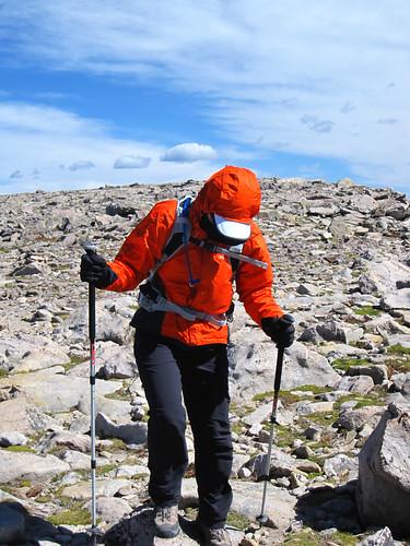 Climbing Hallett Peak