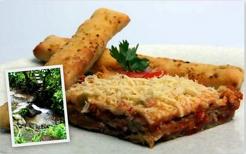 Abucay, Bataan: Cheesy Eggplant Layers and the Sibul Spring
