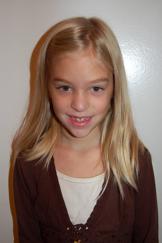Sydney, age 7, 2nd grade
