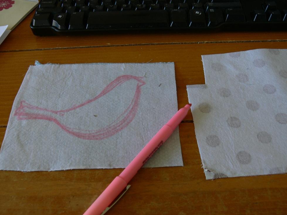 Jenny: Burlap Art