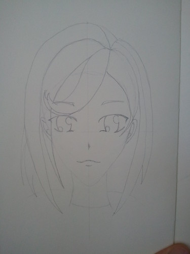 Anime Girl - Step 4