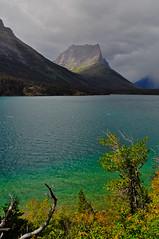 St. Mary's lake, Glacier NP (Piyali Mukherjee) Tags: park lake st montana glacier national marys