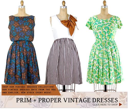 Prim + Proper Vintage Dresses