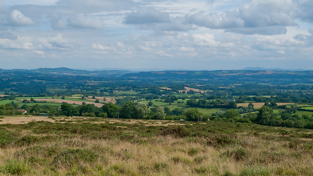 View from Clee Hill