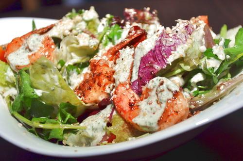 Dukkah Prawn Salad 1