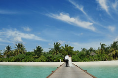 Wedding in Maldives (m o d e) Tags: wedding beach island photography groom bride photo flickr shoot shot image jetty scene location resort commercial maldives mode arrange mashafeeg