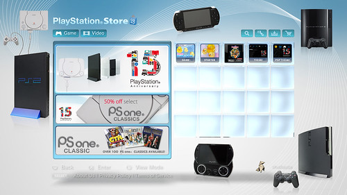 PlayStation 15 Year Anniversary - Store Category
