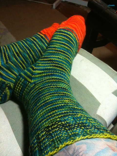 Jazz Socks Finished
