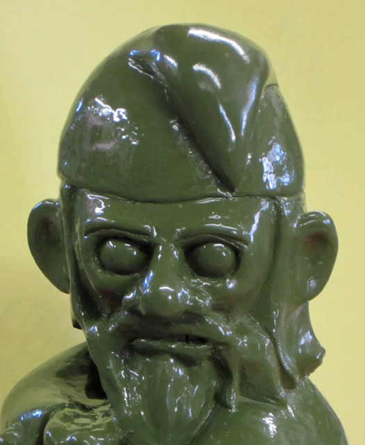 Gneeling Gnome Face