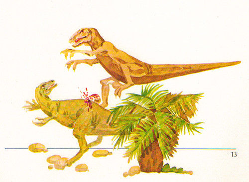Deinonychus attack!