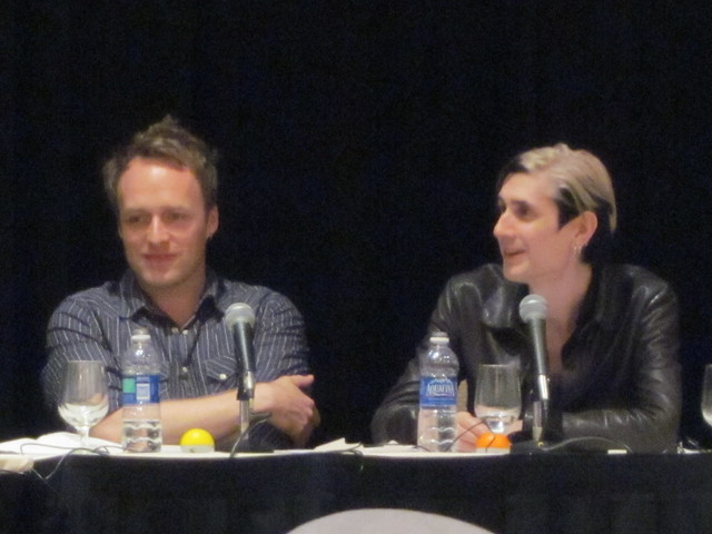 Jackson Publick and Doc Hammer from Venture Bros at Nuts on the Road: The Quiz Show at Dragon*Con 2010
