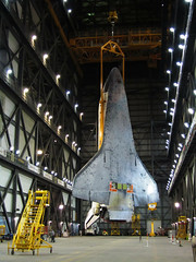Dangling (Flying Jenny) Tags: lift space nasa shuttle vehicle rocket launch exploration discovery orbiter thrust ov103 sts133
