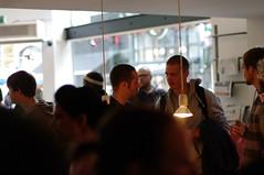VIERKWART expo opening (milov) Tags: people art 50mm rotterdam expo crowd exhibition busy coffeecompany jelmer crowdy eendrachtsplein k20d vierkwart vierkwart1