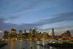 New York skyline (jockpod) Tags: brooklyn brooklynpromenade newyorkcitylights