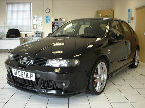 Seat Leon Cupra Black. 2006 06 Reg Black SEAT Leon Cupra R 225. Very rare #39;06#39; reg. Most of the last ones were 55 plates, like mine. Also rare to have both of the only 2 options