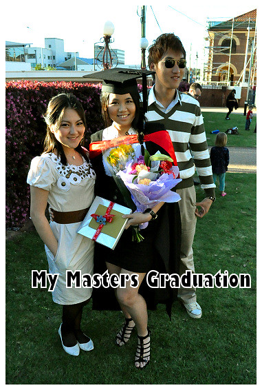My Masters Graduation 2010: With Vera and Daren