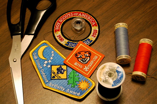 sewing patches