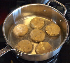 Paneer Potato Cakes