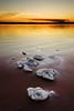 Islands of Salt (DavidFrutos) Tags: sunset orange water reflections atardecer agua salt paisaje alicante filter nd alfa alpha filters naranja sal reflejos waterscape alacant filtro sigma1020mm filtros neutraldensity salinasdetorrevieja sonydslr densidadneutra davidfrutos α700 singhraygalenrowellnd3ss