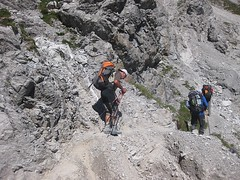lecht_20100826_144438 (OeAV_Mitterdorf) Tags: alpen alpenverein lechtaler mitterdorf oeav bersteigen alpintour
