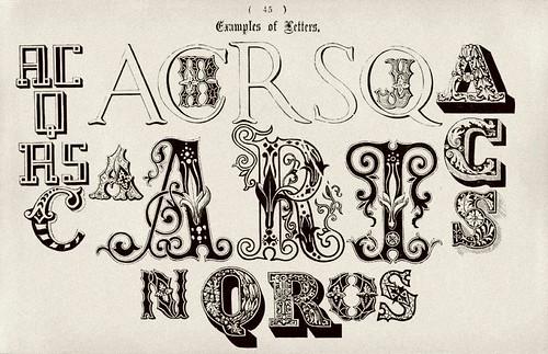 020-Ejemplos de letras-Examples of Modern Alphabets… 1913- Freeman Delamotte