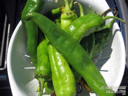 Roasting Peppers 1