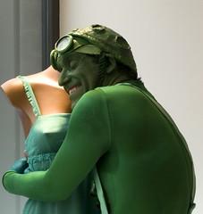 green love (stegdino) Tags: green love alien bigmomma flickrchallengegroup thechallengegame herowinner storybookwinner msh0314 pinnacle20130118 msh031419