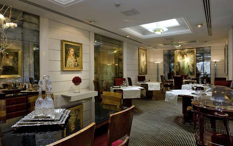 Hotel Lord Byron, Rome, Italy, Restaurant