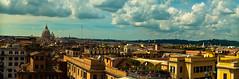 Hotel Pano (1yen) Tags: travel italy panorama stpeters rome roma travelling photoshop europe panoramic trevifountain fontanaditrevi stpetersbasilica 4exp trevirione