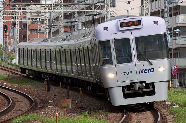 京王電鉄井の頭線1000系1005F 試運転