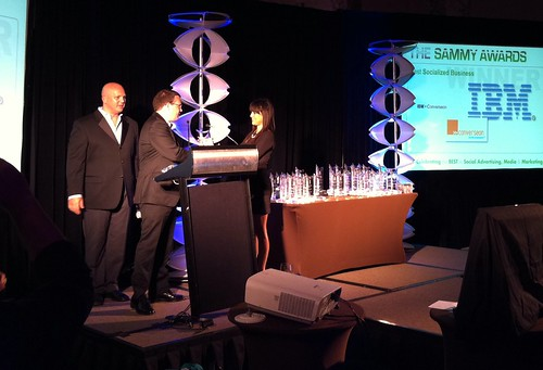 IBM and listening partner Converseon recognized at the 2010 SAMMY Awards!