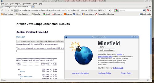 Minefield 4.0 prébeta7 avec Kraken