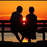 Croatia - Istria - Umag - Sunset Couple
