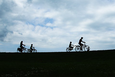 Family on Bike