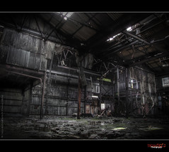 "Abandoned Factory ""S"" (rustysphotography) Tags: old urban house building art broken beautiful photoshop hospital insane crazy scary peeling paint industrial factory moody decay exploring rusty creepy spooky forgotten trespass horror rotten explorers exploration lunatic asylum derelict hdr abondoned ue urbex lunaticasylum hauntingly rustysphotography"